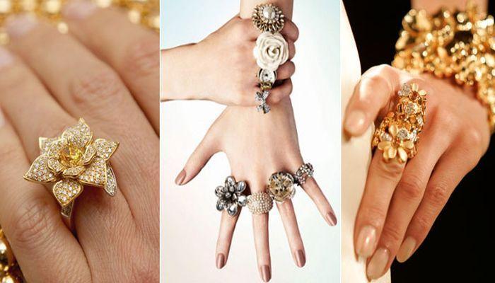 Помолвочные кольца в авангардном стиле