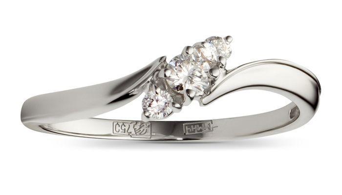 Кольцо от ювелирного дома Эстет
